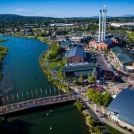 Birdseye View of Bend, Oregon